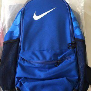 nike big blue backpack
